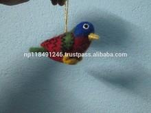 Felt Birds/felt Shapes/Christmas Decoration/Hangings