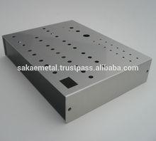 Durable aluminium junction box aluminium box with multiple function made in Japan