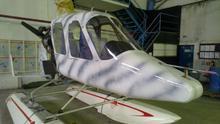 Autogyro (Gyroplane) RUS-2 water