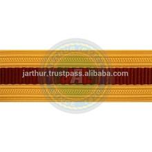 Army Sleeve Braid: Transportation I Army Lace and Trimmings I Bullion Braid