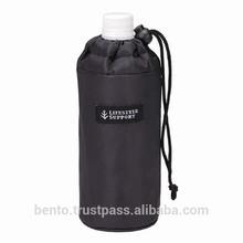 PET Bottle Cover Simple (BK)/black bottle, thermal cover, bottle cooler, thermal bag, water bottle holder, 500ml pet bottle