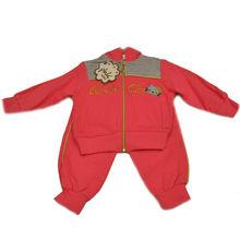 100% COTTON LYCRA WINTER SEASON CHILDREN BOY CLOTHING SETS (PINK COLOR)