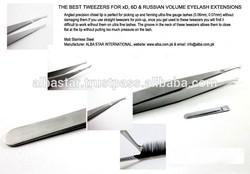 2014 New Hot Selling Volume Lash Tweezers/ Eyelash Volume Tweezers/ Professional Volume Lash Tweezers