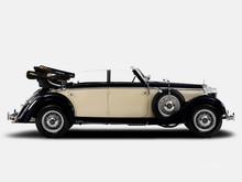 Mercedes 320D W142 cabrio 1936 - 1937 year