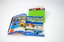 Glossy lamination advertising Book Flyers Leaflet Catalogue Brochure Magazine printing
