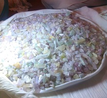 WOW 40 kg Mix Kunzite crsytals Lot On My Own Purchase Price!!!! 900 usd only