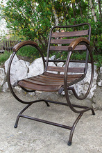 Wrought Iron - Armchair Tube H4-F L:58 x h:84