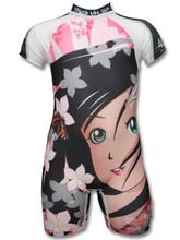 4BB2 One Piece UV Swimsuit Kids- Little Girl