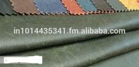 wax oilskin canvas fabric