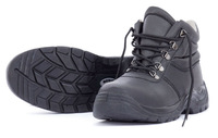 Bison Trade Lace Up Safety Work Boots