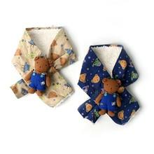 (MA0308)Winter Neck Warmer Children Baby Kids Boys Muffler Scarf knit scarf