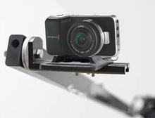 5 foot telescopic, portable camera jib crane for DSLR, Smartphone, GoPro with Bag set