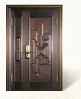 Copper Art Middle Door prototyping ideas with different look efficent