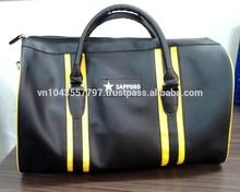Vietnam Custom Logo Promotion Leather Luggage Travel Bag