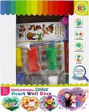 My-Clay Heart Wall Deco Kit