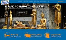 Website Design For tours & travels