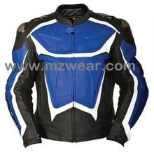 motorcycle leather jackets , Leather Sports Jacket , Racer Jacket