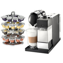 NEW!!! wholesale home appliance DeLonghi EN520W Lattissima Nespresso White Capsule Espresso and Cappuccino
