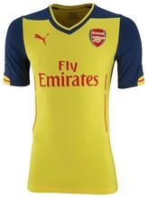 ORIGINAL FOOTBALL/Soccer KIT/uniform arsenal 2014/15 EXPOSED