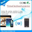New arrive elegant lifestyle keyboard bluetooth for smart phone/psp/pc,touchpad keyboard with laser light . ,