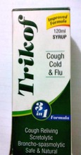 Trikof cough syrup