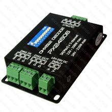 PX24506 DMX512 PX Decoder Driver 9A Amplifier 12V 24V RGB LED Light DMX Amplifier