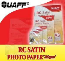 RC Satin Photo Paper