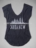 printed design Women T-Shirts sleeveless