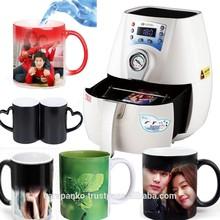 mini sublimation 3D Vacuum machine magic mug printing machine ,plate mug printing machine , cheap mug printing machine price