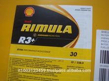 Shell Rimula R3+30 209 Liter drum