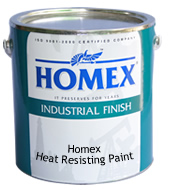 Homex Heat Resisting Paint
