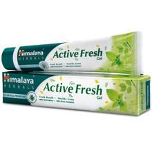 Himalaya's Active Fresh toothpaste Gel packed with refreshing herbal ingredients