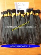Brazillian human hair bulk