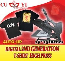 CUYI 2ND GENERATION DIGITAL TSHIRT HIGH PRESS--AUTO UP