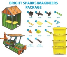 imaginz - 344pc Kids Construction Bright Sparks Imagineers Package