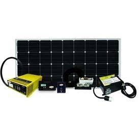 อำนาจไปวีคเอนsw9.1แอมป์160วัตต์พลังงานแสงอาทิตย์ชุด