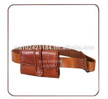 Genuine Leather Purse Belt