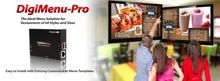 DigiMenu-Pro - Digital Menu Total Solution (Hardware & Software) Restaurants, Coffee Shops, Bars...