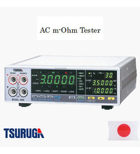 Battery Quality Evaluation of Electrical Vehicles by Tsuruga Electric Corporation product: AC m-ohm Tester , 1 kHz frequency typ