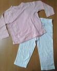Branded Babies Stocklot Wrap Top & Pant Set