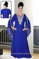 DUBAI LOVELY KAFTAN jalabiya dress high fashion Caftan J098