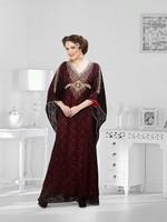 DUBAI ELEGANT KAFTAN PARTYWEAR RICH DRESS jalabia for all season WA0078