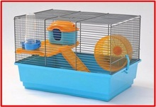 Hamster cage cm 41.5x30x28h small animal cage (including accessories)