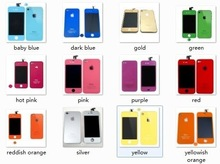 Touch Screen Digitizer For 4S/4/5 Multicolour Phone Mirror Assembly