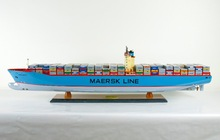 EMMA MAERSK Wooden Model Container Ships Handicraft