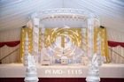 WEDDING CRYSTAL MANDAP different design with shape well