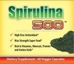 Herbal Supplement Spirulina 500 - 60ct
