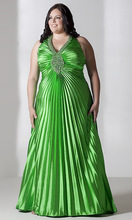 Awesome Party Dress In Green Color With Beautifull Design Awesome Look For Desi Girls New Winter Collection