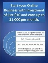Start Online home base Business