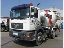 MAN 33.364 6x4 Cement Mixer Truck (Left Hand) - Internal stock No.: 11259